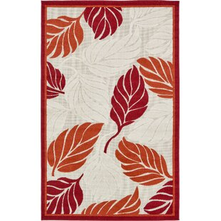 Westerly Beige/Red/Terracotta Indoor/Outdoor Area Rug