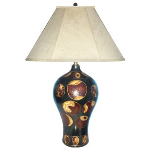 Creation Hand Painted Porcelain 29 Table Lamp
