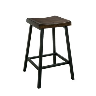 Rosalind Wheeler Black Seat Bar Stools