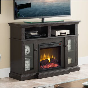 Seadrift Infrared TV Stand with Fireplace by Charlton Home