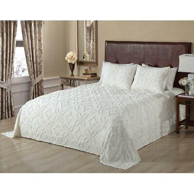 Oversized Gode Single Bedspread Size: Queen