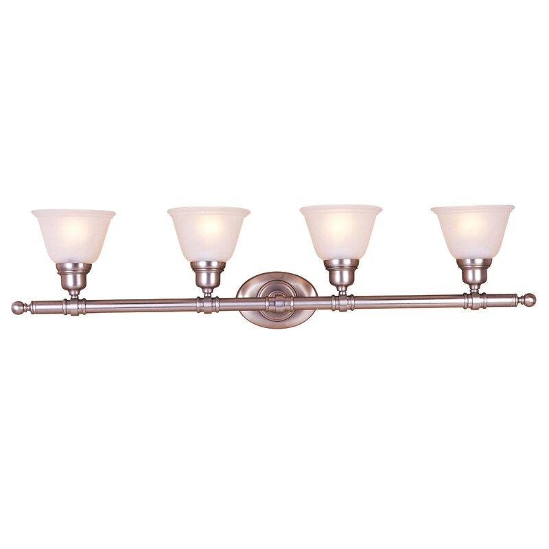 Charlton Home Weehawken 4 Light Vanity Light Reviews Wayfair