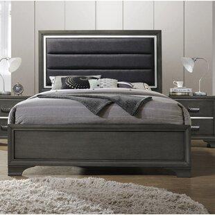 Hunedoara Upholstered Panel Bed by Ivy Bronx
