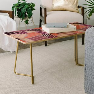 Best Price Mareike Boehmer Strokes Rose Coffee Table by East Urban Home