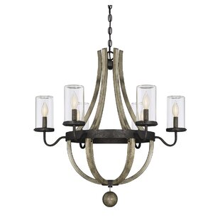 Check Prices Mott 6-Light Outdoor Chandelier By Laurel Foundry Modern Farmhouse