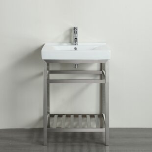 Strauss 24 Single Bathroom Vanity Set ByEbern Designs