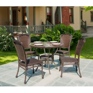 Bay Isle Home Selbyville 5 Piece Dining Set