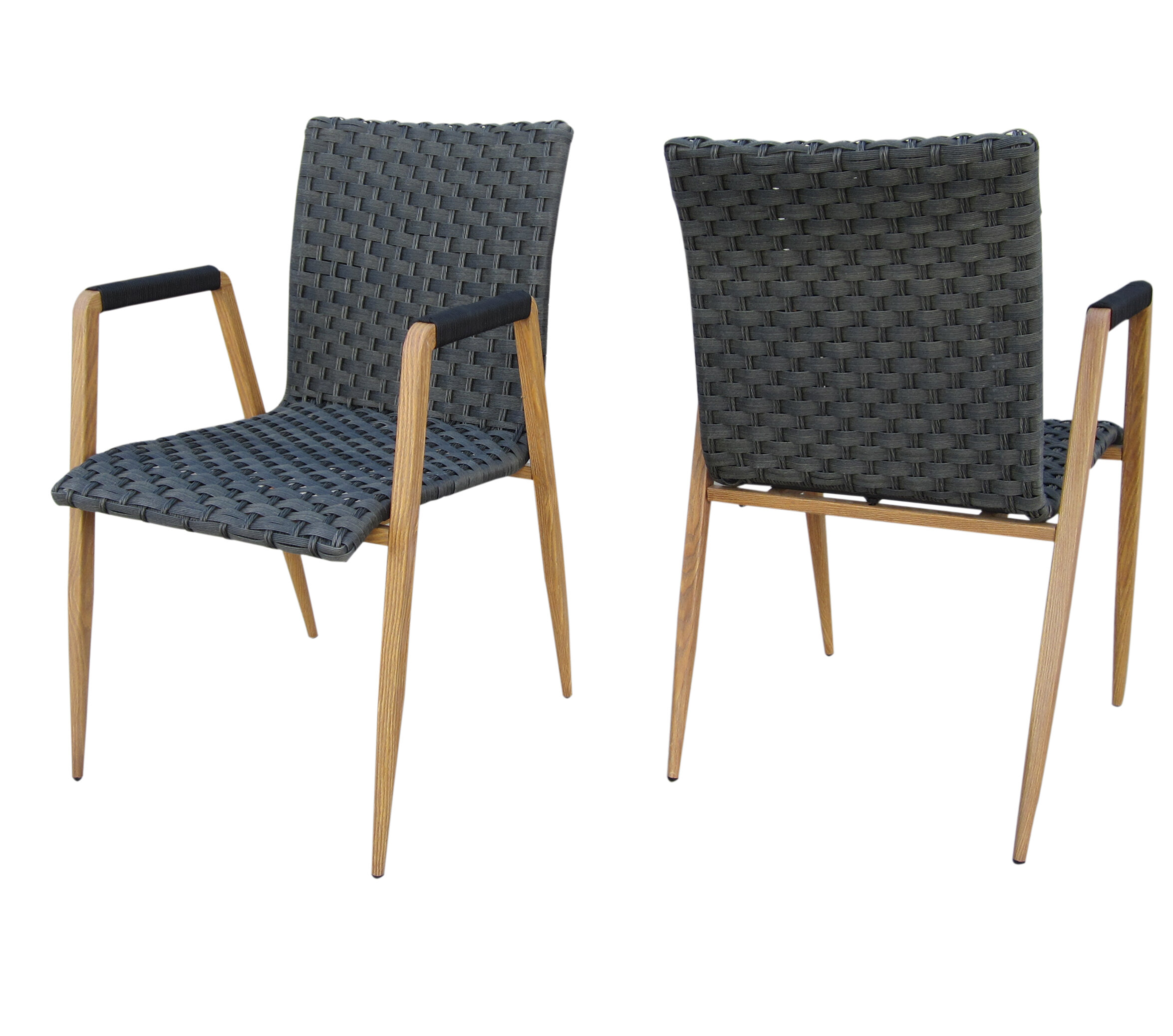 Crewe Wicker Patio Dining Chair Reviews Joss Main