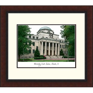 NCAA South Carolina Fighting Gamecocks Legacy Alumnus Lithograph Picture Frame By Campus Images
