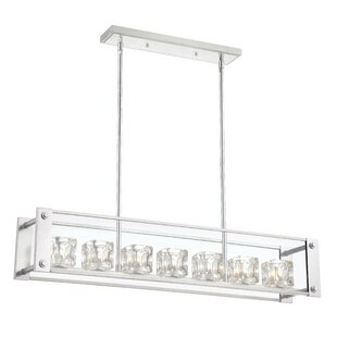 Orren Ellis Artrip 7-Light Kitchen Island Pendant