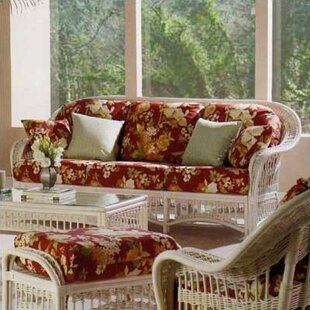 5000 Plantation Sofa by South Sea Rattan