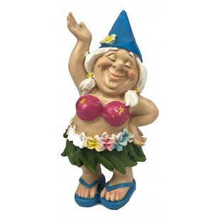 Westboro Hula Bikini Lady Free Spirited Hippie Hawaii Themed Vacation Fairy Garden By August Grove