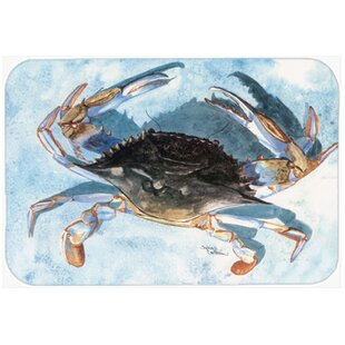 Crab Glass Cutting Board