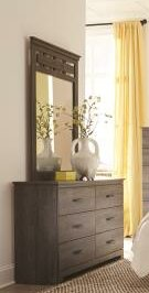 Neenah 6 Drawer Double Dresser with Mirror