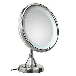 Purchase Mirror Pure Lucciolo Magnifying Cosmetic Mirror with Lighting ByWS Bath Collections
