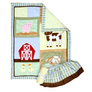 Affordable Capone 3 Piece Crib Bedding Set ByZoomie Kids