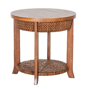 Hamptons End Table by Acacia Home and Gar..