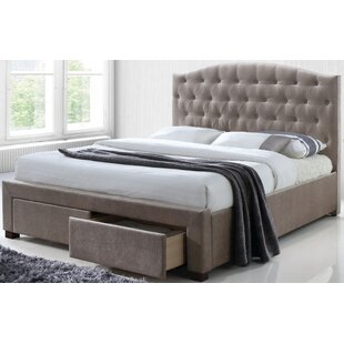 Jay Upholstered Storage Platform Bed by Rosdorf Park Read Reviews