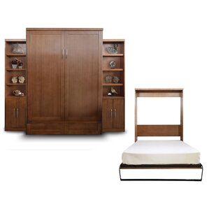 Delapaz Queen Murphy Bed by Brayden Studio