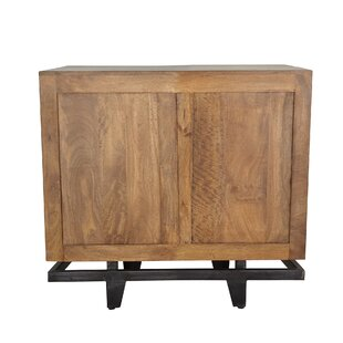 Bernsdale Rustic Wood Accent Cabinet by Union Rustic