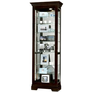 Saloman Lighted Curio Cabinet by Howard Miller®