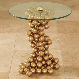 Sphere End Table by Global Views