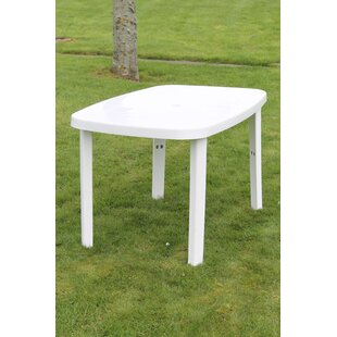 Mcintire Plastic Dining Table By Sol 72 Outdoor