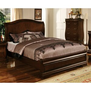 Liverpool Wood Panel Bed by World Menagerie