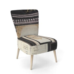 Les Chic Chapeaux French Fashion Side Chair