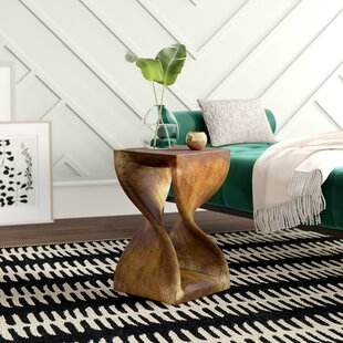 Pelley Twist End Table by Mercury Row