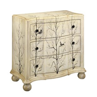 Montville 3 Drawer Accent Chest