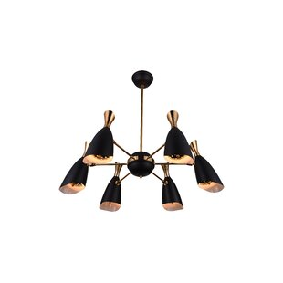 CWI Lighting Rolin 12-Light Shaded Chandelier