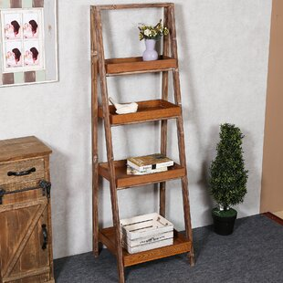 Reviews Abbigail Ladder Bookcase By Mistana