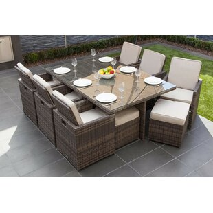 Guifford 6 Seater Dining Set With Cushions By Sol 72 Outdoor