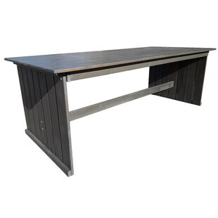 Zephyr Wooden Dining Table By Sol 72 Outdoor