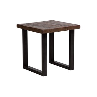 Lanclos End Table by Union Rustic