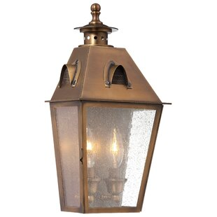 Darby Home Co Meriline 2-Light Outdoor Flush Mount