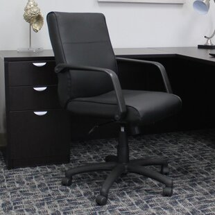 Boss Office Products Leather Desk Chair