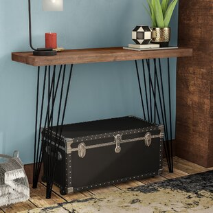 Renee Natural Finish Firwood Console Table