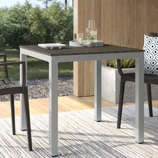 Danaher Metal Dining Table by Mercury Row