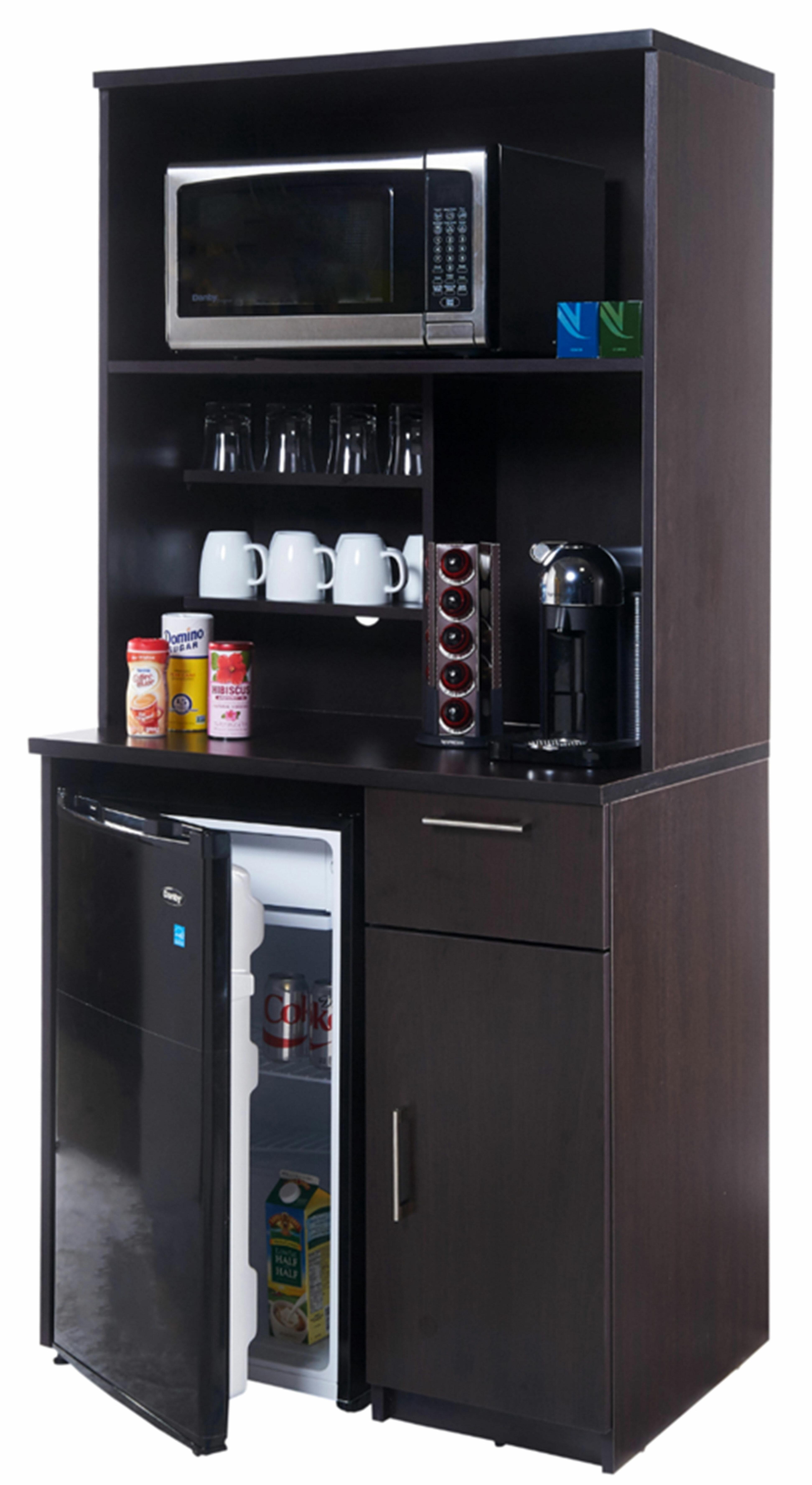"""Coffee Kitchen 11"""" H x 11"""" W x 11"""" D Base Cabinet"""