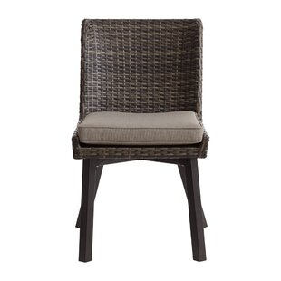 Ivy Bronx Hairston Patio Dining Chair with Cushion (Set of 2)