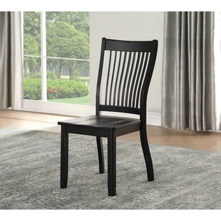 Affordable Ashburt Solid Wood Dining Chair (Set of 2) by Winston Porter Reviews (2019) & Buyer's Guide