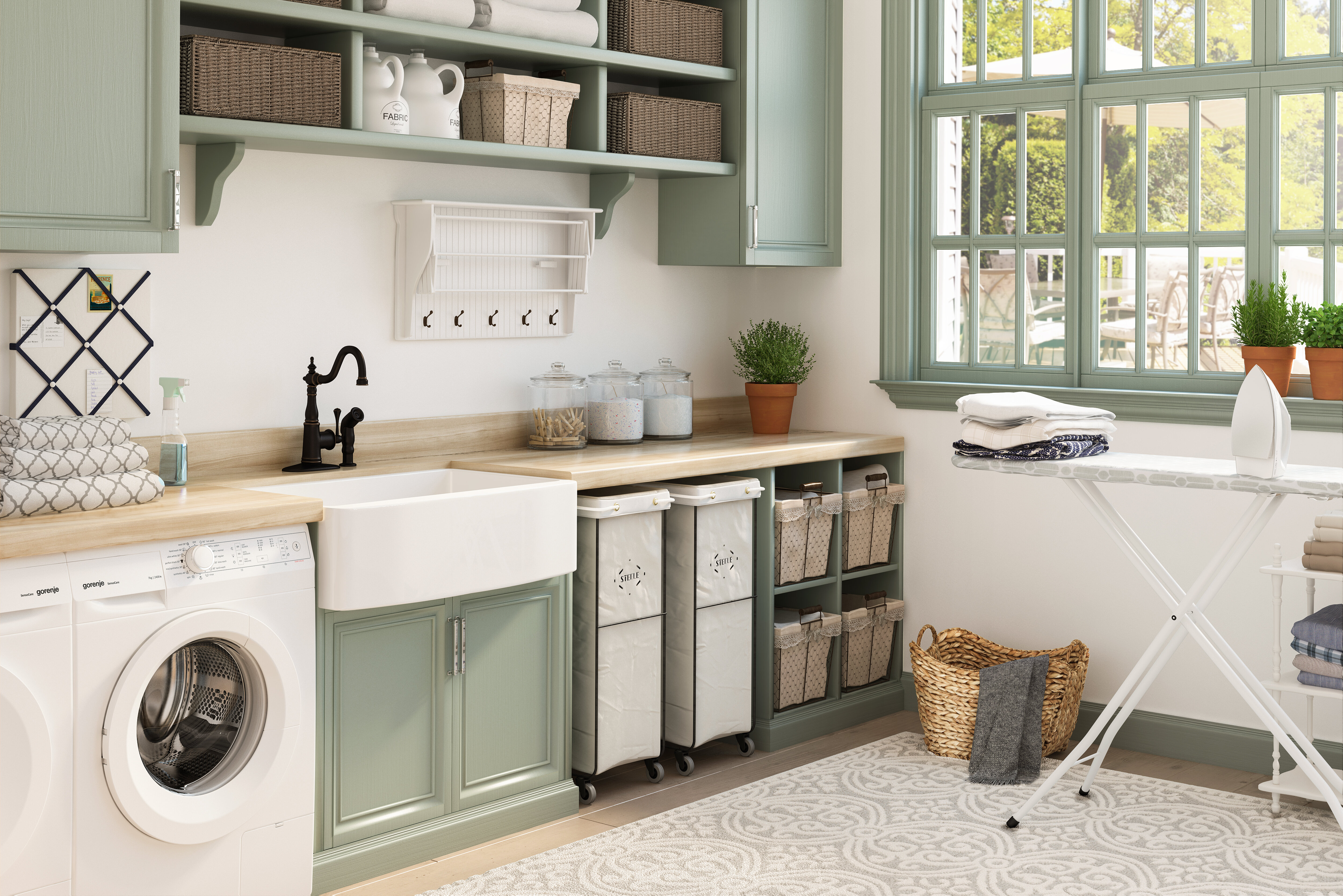 8 Essential Laundry Room Storage Ideas With Photos