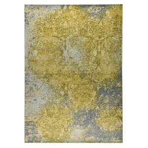 Austin Hand-Woven Gold/Gray Area Rug