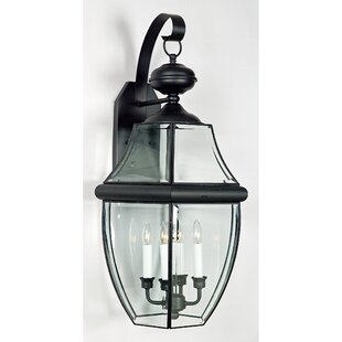 Mellen 4-Light Incandescent Outdoor Wall Lantern