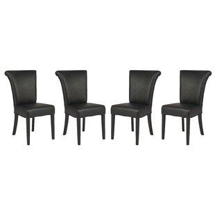 Red Barrel Studio LaRue Upholstered Dining Chair (Set of 4)