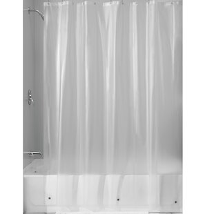 Miner PEVA Single Shower Curtain Liner By InterDesign