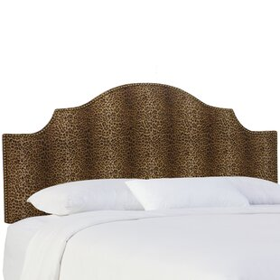 Graves Upholstered Panel Headboard by Bloomsbury Market
