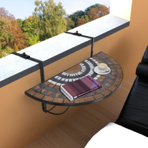 Klappbarer Balkontisch von Home Etc